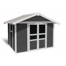 Basic Home Gartenhaus 7,5 m2 Dunkelgrau