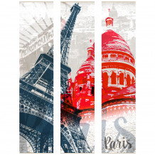 Dekorativer Wandrahmen Paris - Les monuments