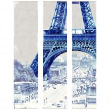 Dekorativer Wandrahmen Paris - Eiffel Turm