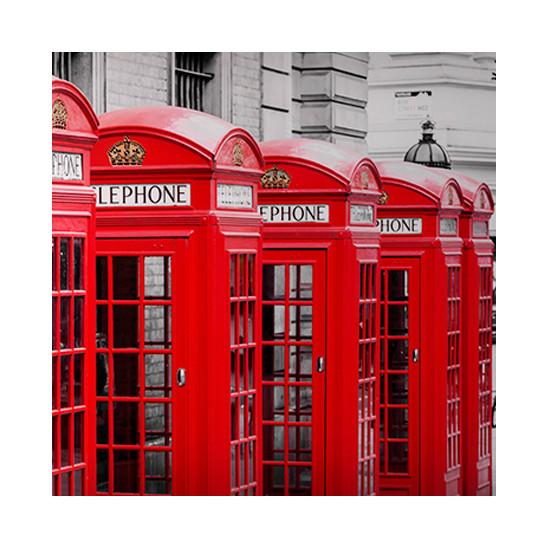 Mur décoratif Element 3D London phone