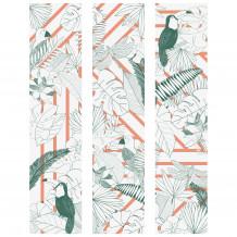 Decorativer wandrahmen Jungle Graphik