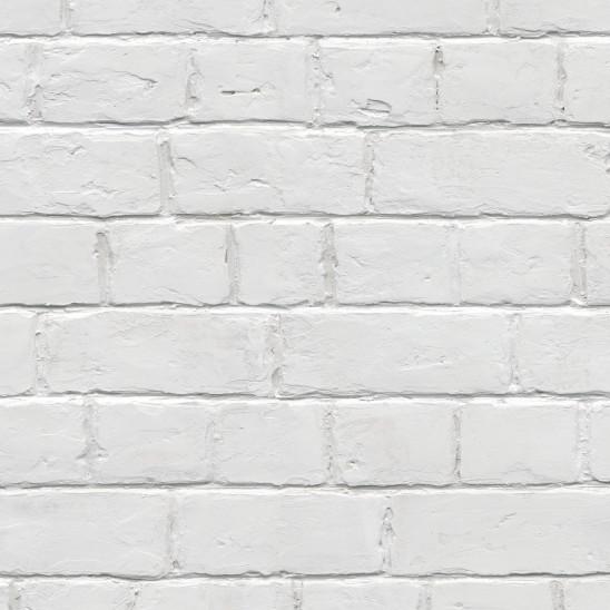 Wandverkleidung Element 3D Weiße Ziegel