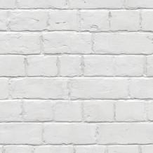 Wandverkleidung Element 3D Weißer Ziegelstein
