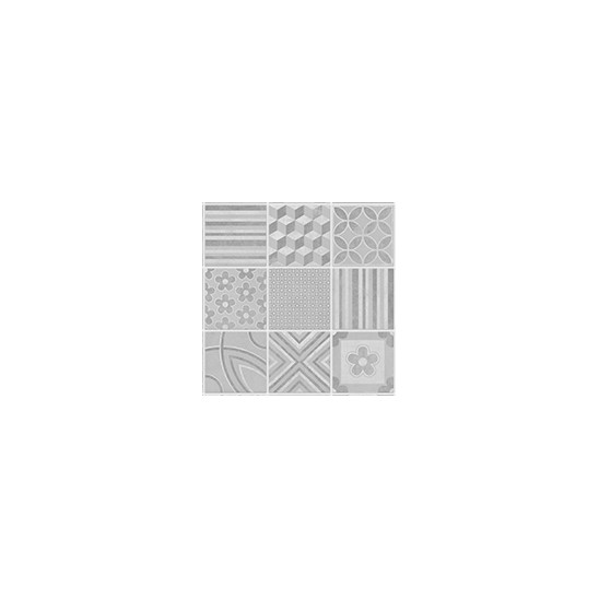 Revêtement Element 3D ciment 3 carreaux