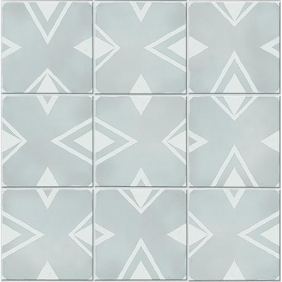 Revêtement Element 3D Diamond tile light blue