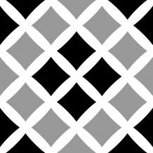 Fliesenaufkleber Square Cross