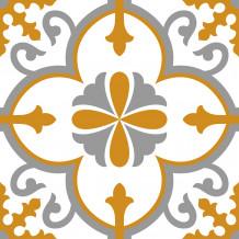 Fliesenaufkleber Square Flore