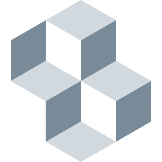 Fliesenaufkleber Diamond Kube