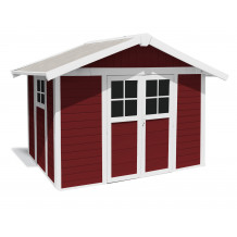 Déco Gartenhaus 7,5 m2 PMMA