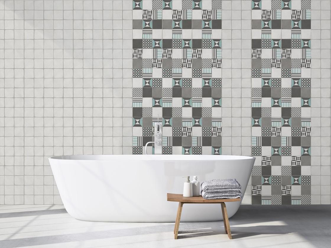 Die Wandverkleidung für das Badezimmer   Grosfillex
