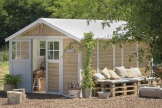 5 Gründe warum Sie sich für ein Gartenhaus aus P...